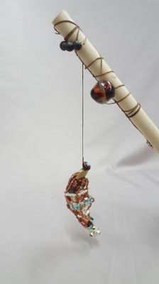 "Bead Challenge 2019--Matthew Boddicker's ""Gone Fishing"""