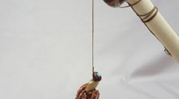 "2019 Bead Challenge--Matthew Boddicker--""Gone Fishing"""