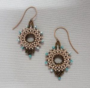 New Class!  Gyrls Night Out:  CRAW Circle Earrings