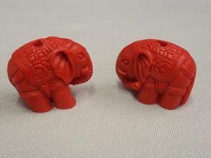 Simulated Cinnabar Elephant
