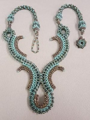 Crystal Necklace--Wow Factor
