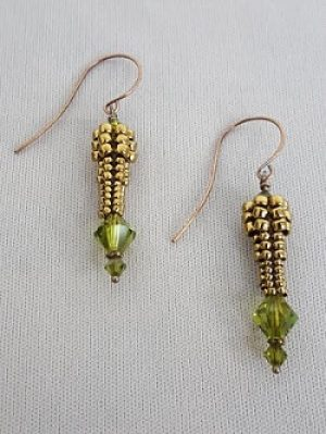 Gyrls Night Out:  Herringbone & Swarovski Earrings--this class is full--please call to get on a waiting list!