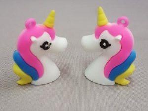 Silicon Unicorn Pendant