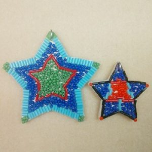 Bead by Number Kit--Stars