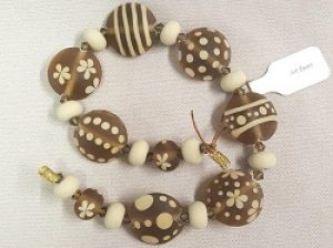 Flowers, Stripes, and Dot Lampwork