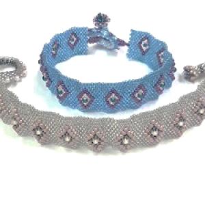 Raised Diamond Bracelet with Toggle Kit
