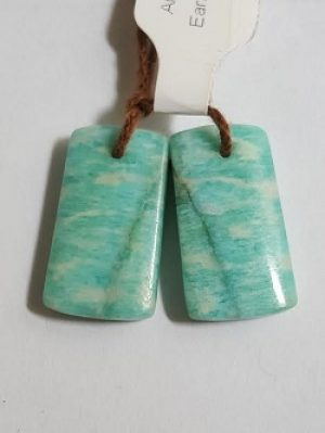 Amazonite Earring Pair