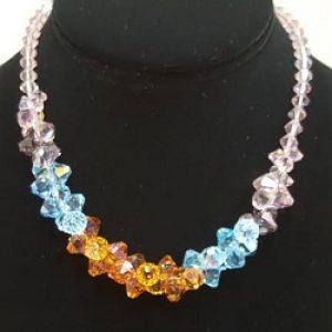 Swarvoski Color Graded Necklace