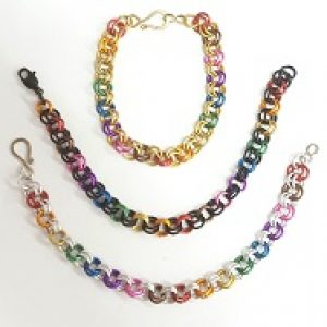 Pridewear Chain Maille Bracelet