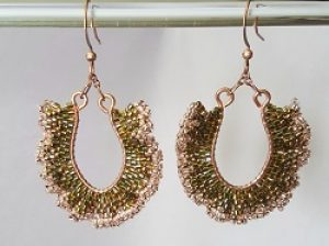 Ruffles Galore Earrings