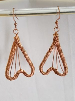 New Class!  Snake Weave Earrings