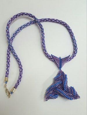 Cellini Triangle Necklace