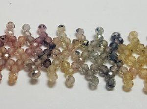 Sapphire Beaded Bracelet