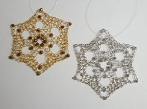 New Class!  Wire Snowflake Ornament/Pendant