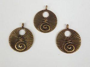 Saki Bronze Pendant