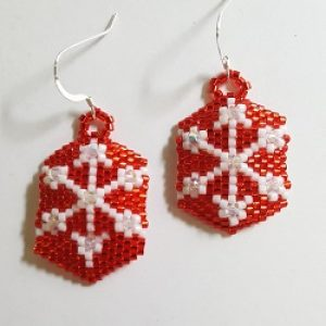 New Class!  Gyrls Night Out:  Snowflake Earrings