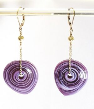 Gyrls Night Out:  Flapjack Earrings with Chain--only one seat left!