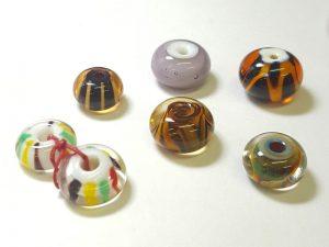 Encasing Glass Beads