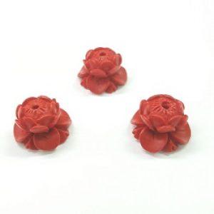 Cinnabar Lotus Flower