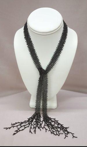 Roaring Twenties Necklace in Spinel