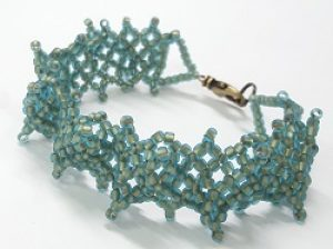 Wide & Textured 1920's Weave Bracelet Kit