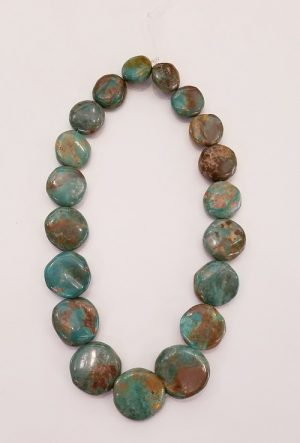 Turquoise Graduated Coins