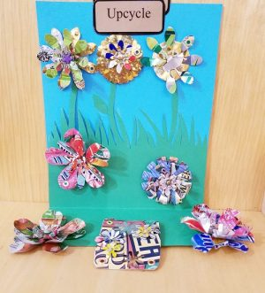 Recycled Blooms--Fun Family Class-Great for Adults and Kids!