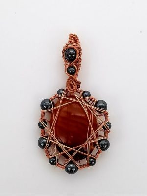 New Class! Netted Cabochon Pendant