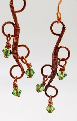 New Class!  Filigree Wire Earrings